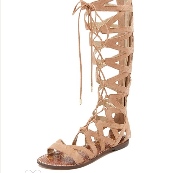 b8f424f96333e7 ... Sam Edelman Gena Tall Gladiator Sandals in Camel release info on 0e0c2  63ba3 ...